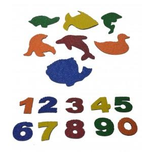 kit de Bichos e Números afunda
