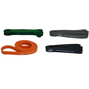 KIT POWER BAND C/ 04 ( FRACA/MEDIO/FORTE E EXTRA FORTE)