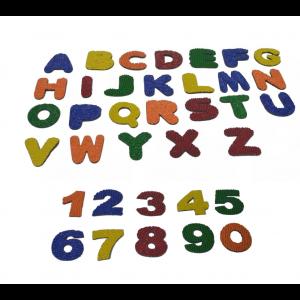 Kit alfabeto + numero (afunda)