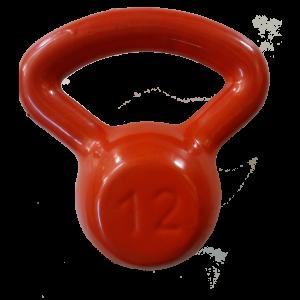 kettlebell 12 kg. emborrachado