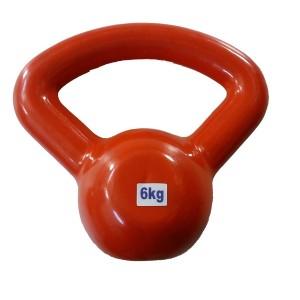 kettlebell 06 kg. emborrachado