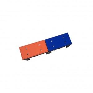 kit plataforma redutora de profundidade - 2 módulos - 1,64m x 41cm x 49cm